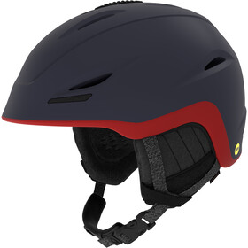 Giro Union MIPS Skihelm mat midnight-dark red sierra